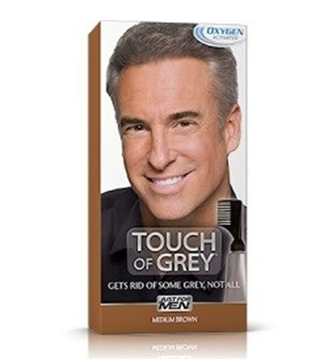 JUST FOR MEN TOUCH OF GREY BEYAZ GİDERİCİ - ORTA KAHVE