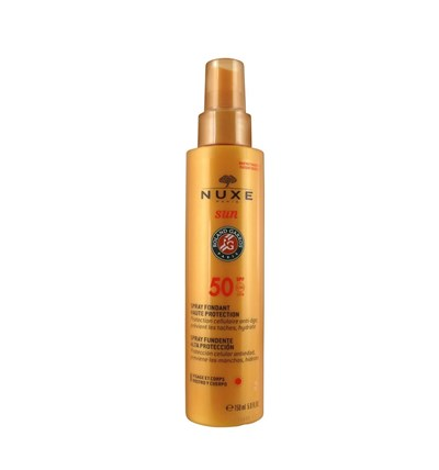 Nuxe Solairesnuxe Solaires Spray Collector Roland Garros Spf50 150Ml