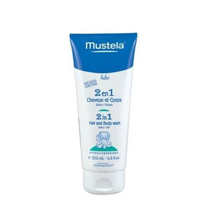 Mustela 2 İn 1 Hair&Body Wash 200Ml - Bebek Şampuanı