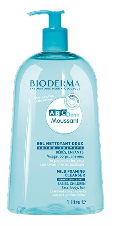Bioderma Abcderm Foaming Cleanser 1 Litre