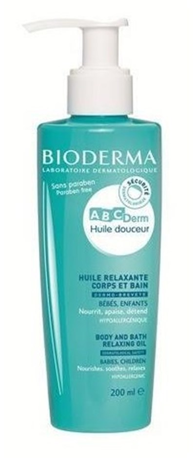 Bioderma Abcderm Relaxing Oil 200 Ml