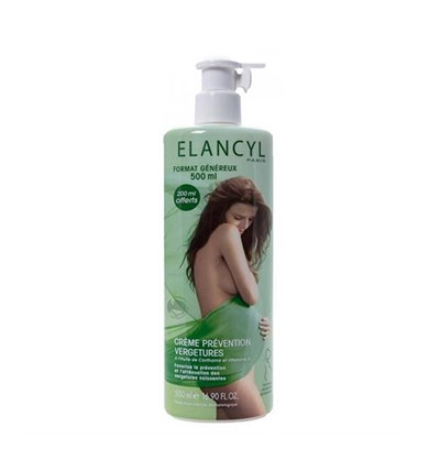 Elancyl Creme Prevention Vergetures Çatlak Kremi 500Ml