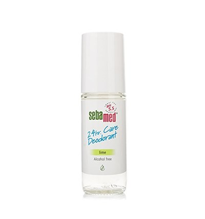 Sebamed 24Hr Care Deodorant Roll-On Lime 50Ml