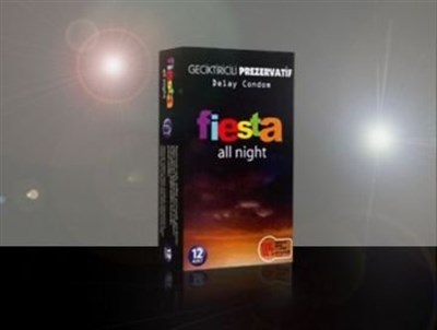 Fiesta All Night Geciktiricili 12 Adet Prezervatif